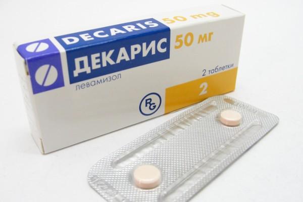 Таблетки от глистов, Декарис